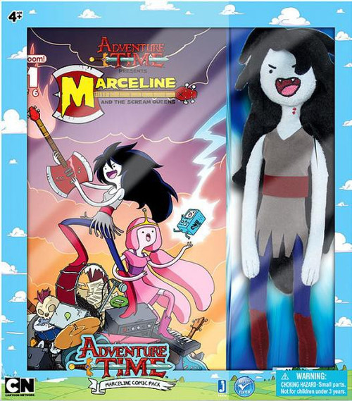 Adventure Time Marceline with Comic Book Plush