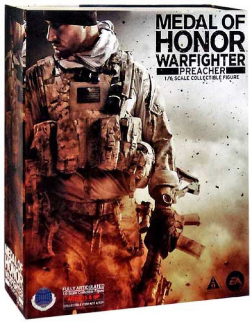 Medal of Honor Warfighter Play Arts kai Preacher Action FIgure