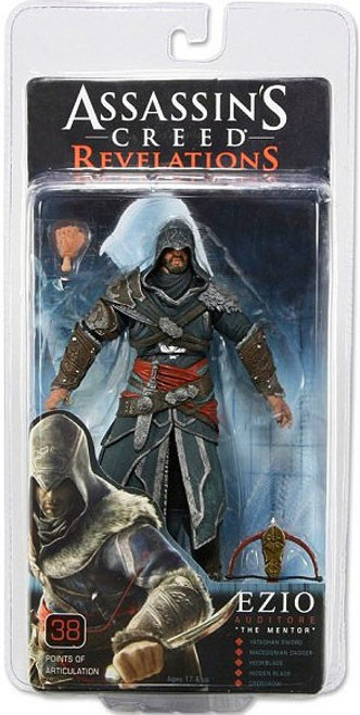 NECA Assassin's Creed Revelations Ezio Action Figure [The Mentor]
