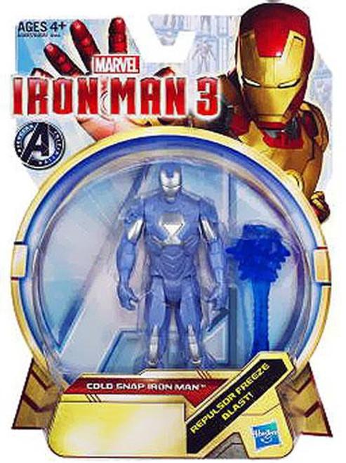 Iron Man 3 Series 1 Cold Snap Iron Man Action Figure