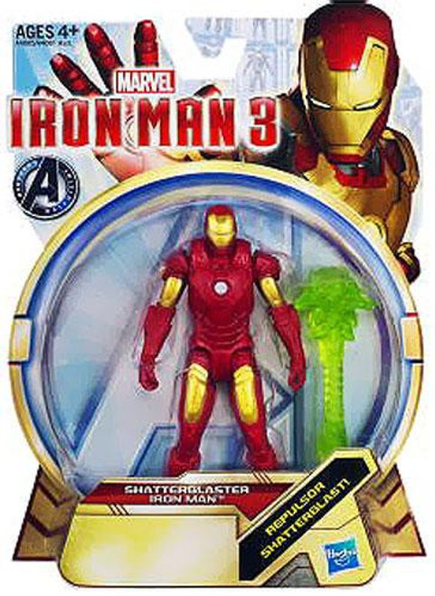 Iron Man 3 Series 1 Shatterblaster Iron Man Action Figure