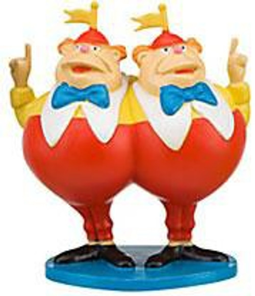 Disney Alice in Wonderland Tweedle Dee & Tweedle Dum Exclusive 3-Inch PVC Figure [Loose]