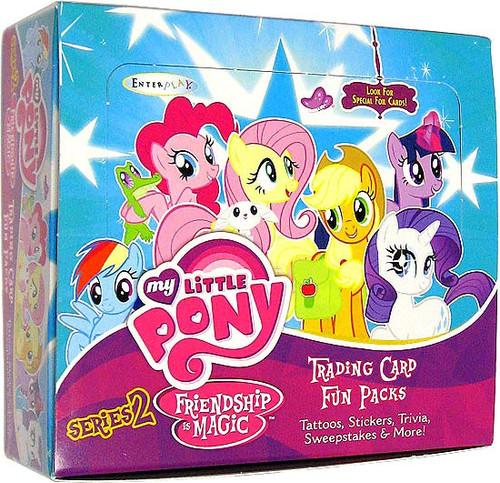 My Little Pony Friendship is Magic Fun Packs Series 2 Trading Card Box [24 Packs]