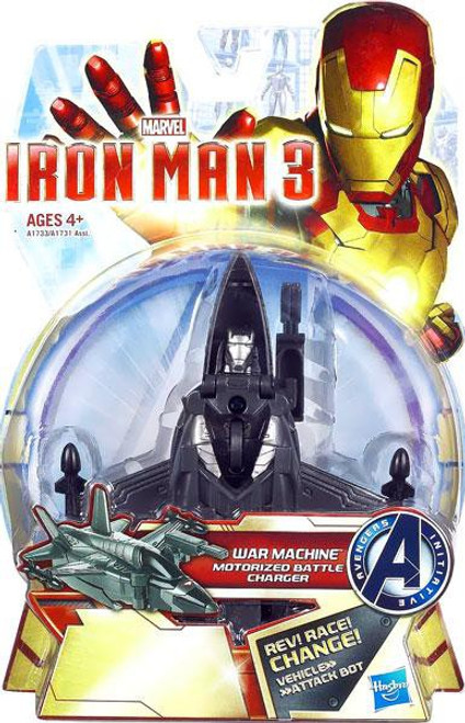 Iron Man 3 Motorized Battle Chargers War Machine Action Figure