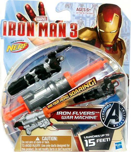 Iron Man 3 Nerf Iron Flyers War Machine Roleplay Toy
