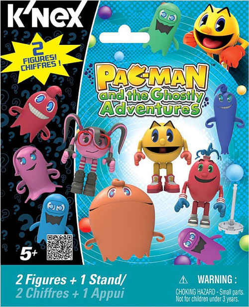 K'NEX Pac-Man Pac Man and the Ghostly Adventures Series 1 Mystery Pack