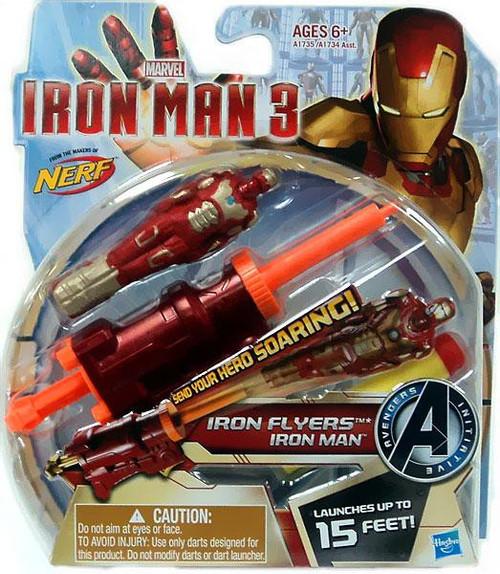 Iron Man 3 Nerf Iron Flyers Iron Man Roleplay Toy