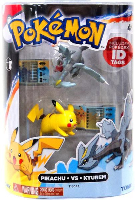 Pokemon Black & White Basic Pikachu vs. Kyurem Figure 2-Pack