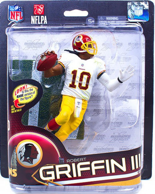 McFarlane Toys NFL Washington Redskins Sports Picks Series 32 Robert Griffin III Action Figure [Red Helmet]