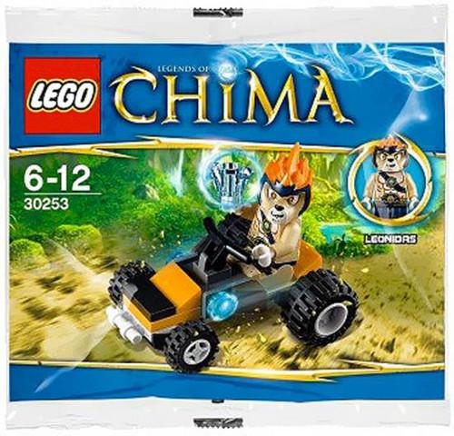 LEGO Legends of Chima Leonidas Jungle Dragster Mini Set #30253 [Bagged]