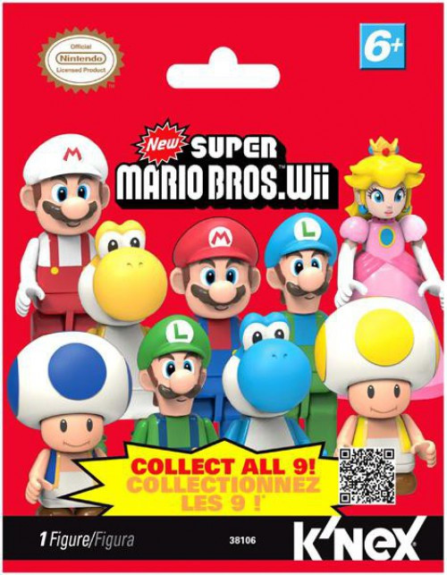 K'NEX New Super Mario Bros Wii Series 1 Mystery Pack #38106 [1 RANDOM Figure]