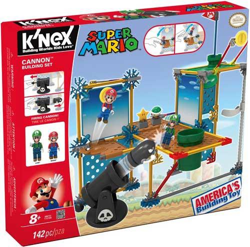 K'NEX Super Mario Cannon Set #38673