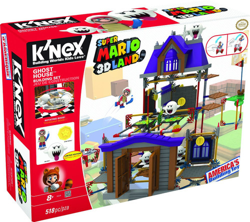 K'NEX Super Mario 3D Land Ghost House Set #38529