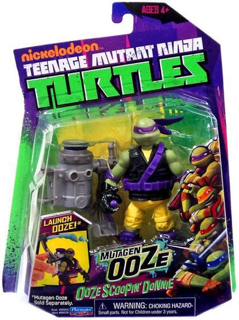 Teenage Mutant Ninja Turtles Nickelodeon Mutagen Ooze Ooze Scoopin' Donnie Action Figure