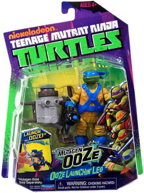 Teenage Mutant Ninja Turtles Nickelodeon Mutagen Ooze Ooze Launchin' Leo Action Figure