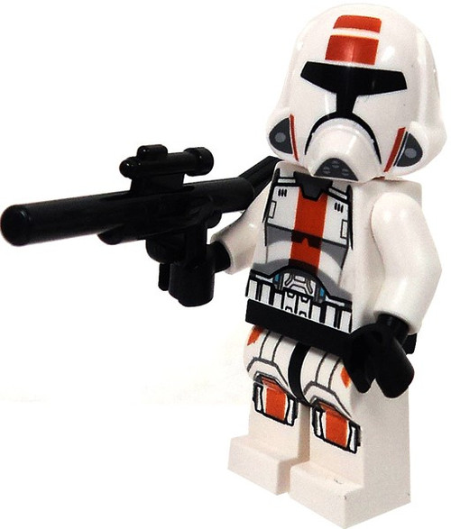 LEGO Star Wars Republic Trooper Minifigure [Blaster Rifle Loose]