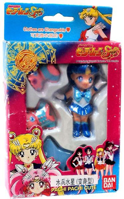 Sailor Moon Pachi Pachi Cute Sailor Mercury 3.5-Inch Figure [Ami Mizuno]