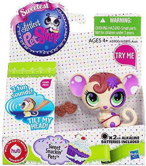 Littlest Pet Shop Sweetest Sweet Snackin Pets Mouse Figure