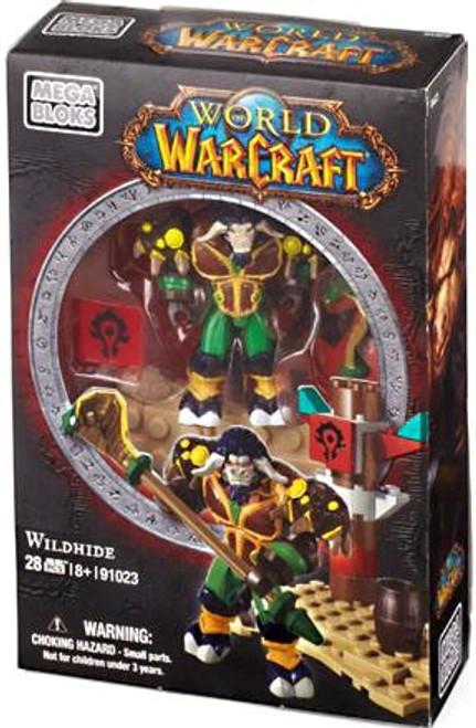 Mega Bloks World of Warcraft Faction Packs Wildhide Set #91023