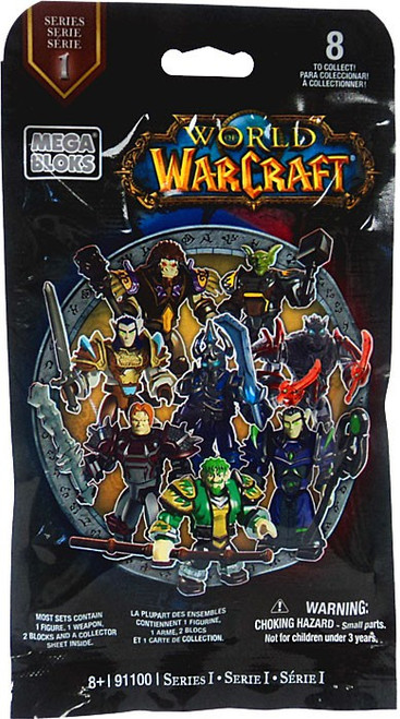 Mega Bloks World of Warcraft Series 1 Minifigure Mystery Pack #91100