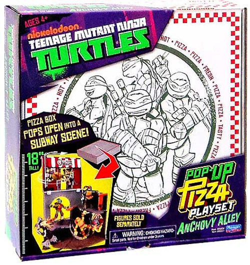 Teenage Mutant Ninja Turtles Nickelodeon Pop-Up Pizza Playset