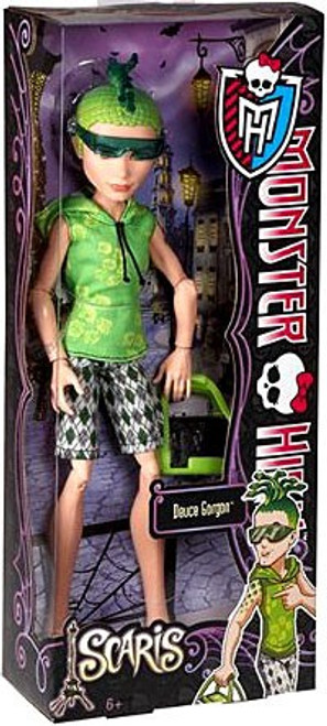 Monster High Scaris City of Frights Deuce Gorgon 10.5-Inch Doll