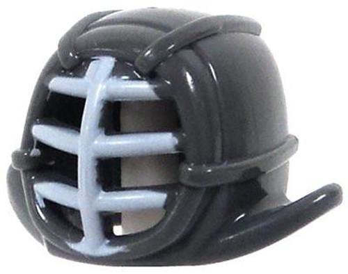 LEGO Ninjago Bluish Gray Kendo Helmet with White Grill [Loose]