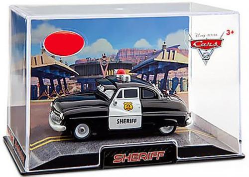 Disney / Pixar Cars Cars 2 1:43 Collectors Case Sheriff Exclusive Diecast Car