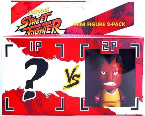 Street Fighter Balrog 3-Inch Vinyl Figure 2-Pack