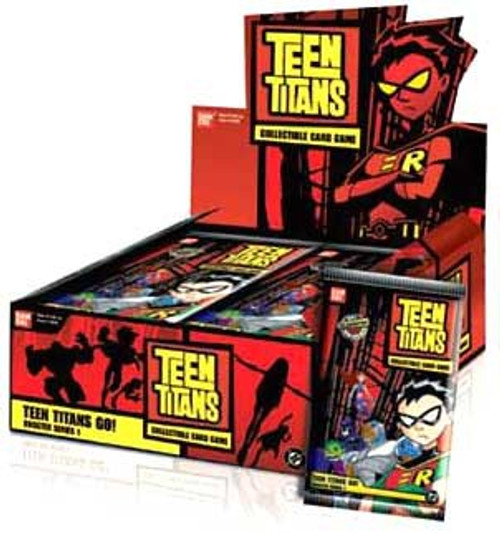 Collectible Card Game Teen Titans Go! Booster Box [24 Packs]