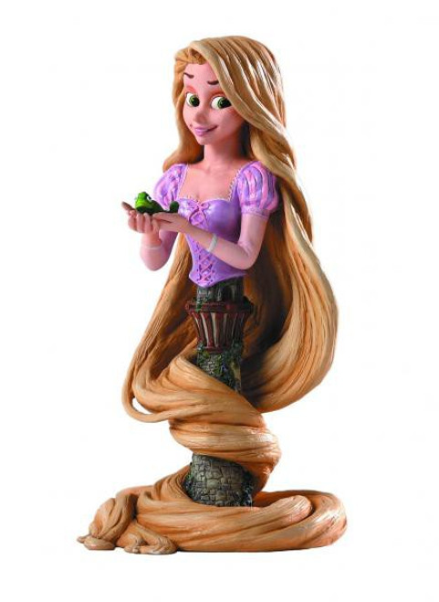 Disney Tangled Rapunzel Mini Bust
