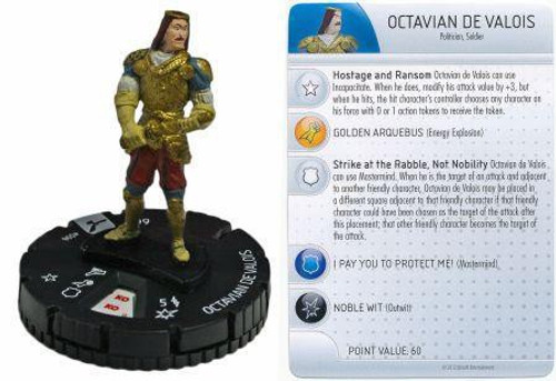 Brotherhood Assassin's Creed HeroClix Octavian de Valois #006