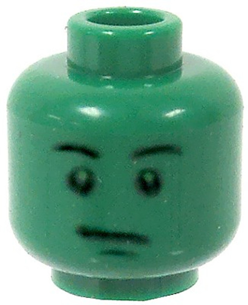 Toy Story Green Face & Stern Look Minifigure Head [Loose]