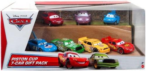 Disney / Pixar Cars Multi-Packs Piston Cup 7-Car Gift Pack Exclusive Diecast Car Set