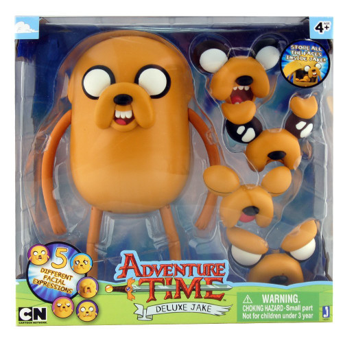 Adventure Time Changing Faces Jake Action Figure [Deluxe]