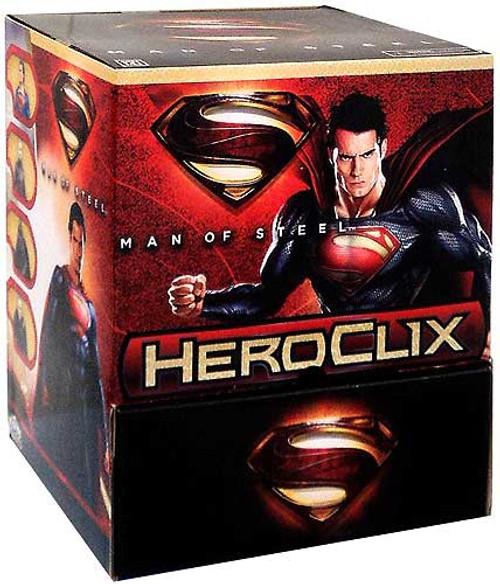 DC HeroClix Man of Steel Booster Box [24 Packs]
