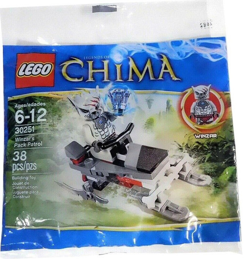 LEGO Legends of Chima Winzar's Pack Patrol Mini Set #30251 [Bagged]