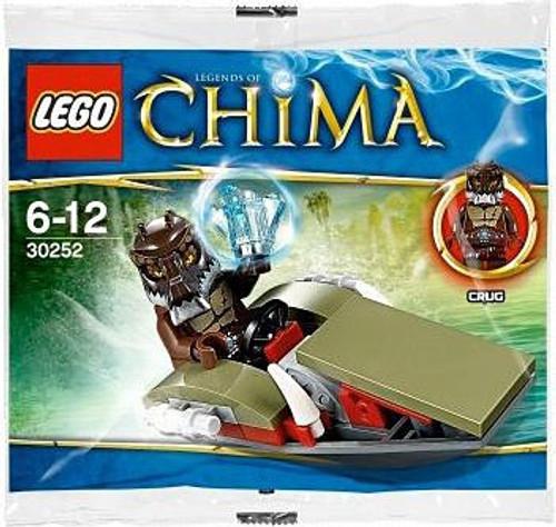 LEGO Legends of Chima Crug's Swamp Jet Mini Set #30252 [Bagged]