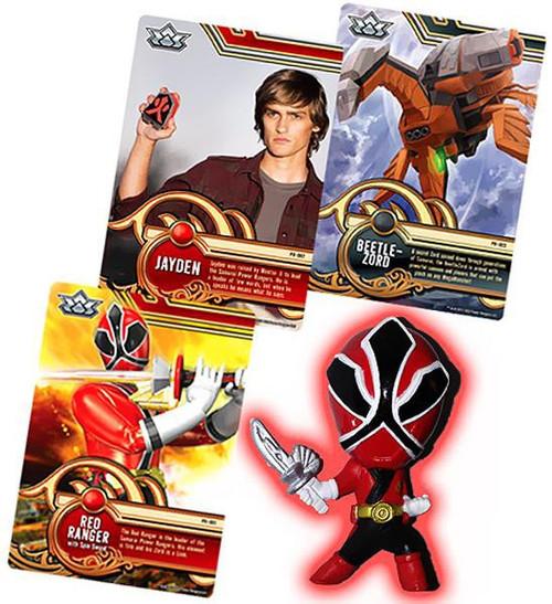 Power Rangers Super Samurai Red Ranger 1-Inch PVC Figure