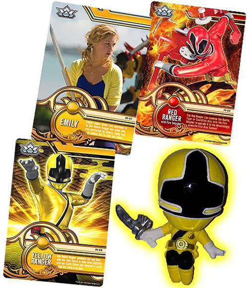 Power Rangers Super Samurai Yellow Ranger 1-Inch PVC Figure