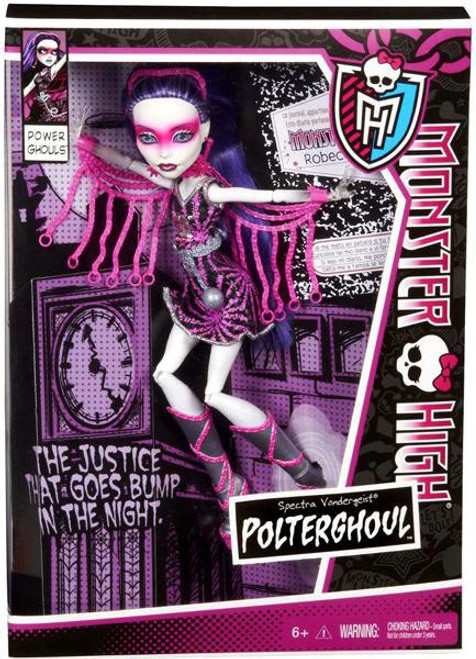 Monster High Power Ghouls Spectra Vondergeist Exclusive 10.5-Inch Doll [Polterghoul]