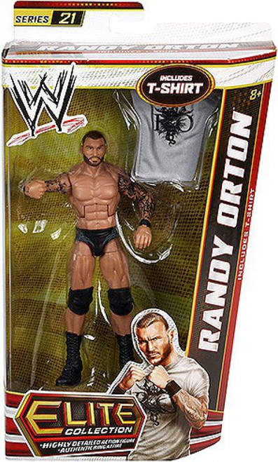 WWE Wrestling Elite Collection Series 21 Randy Orton Action Figure [T-shirt]