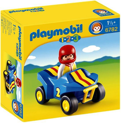 Playmobil 1.2.3 Quad Bike Set #6782