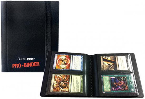 Ultra Pro Card Supplies Pro-Binder Black 2-Pocket Binder