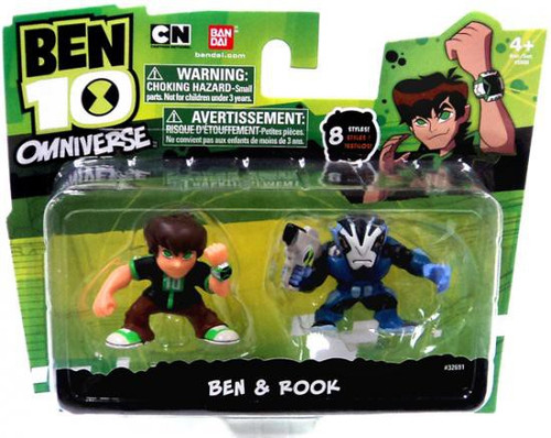 Ben 10 Omniverse Ben & Rook 2-Inch Mini Figure 2-Pack