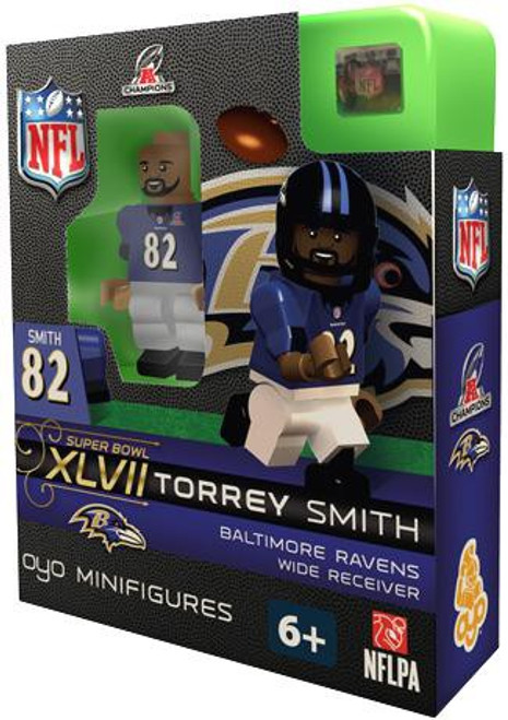 Baltimore Ravens NFL Super Bowl XLVII Torrey Smith Minifigure
