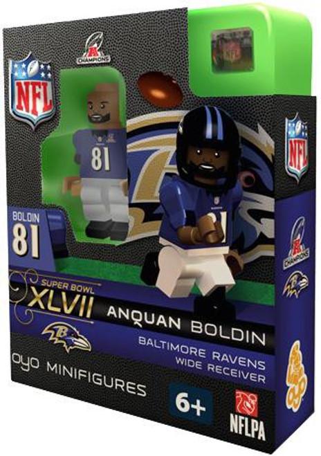 Baltimore Ravens NFL Super Bowl XLVII Anquan Boldin Minifigure