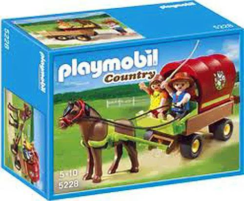 Playmobil Country Children's Pony Wagon Set #5228