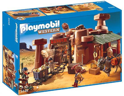 Playmobil Western Goldmine Set #5246