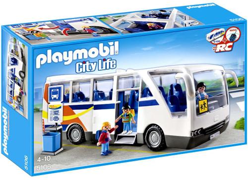 Playmobil City Life City Coach Set #5106